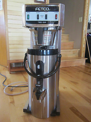 Fetco Commercial Tea/Coffee Brewer and Dispenser TBS-21A