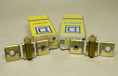 Lot of 2 Square D thermal overload relay heater element unit  B9.10 NIB NOS