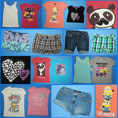 15 Piece Lot of Nice Clean Girls Size 16 Spring Summer Everyday Clothes ss277