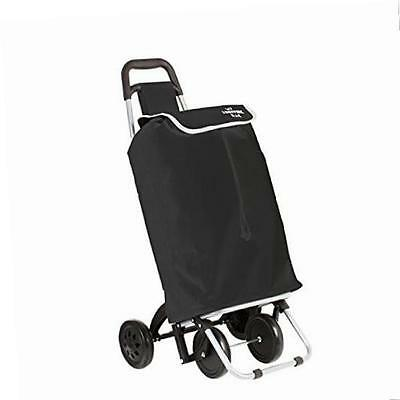 Shopping trolley on 4 wheels – Excellent stability – Foldable - 30L capacity