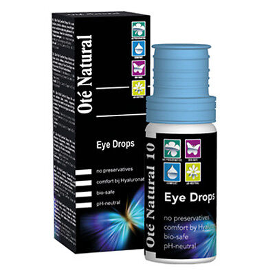 Oté Ote Natural Dry Eye Drops 10ml preservative free hyaluronate