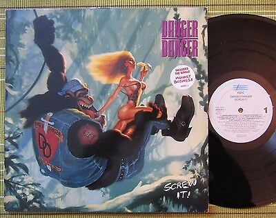 Danger Danger, Screw It! Lp 1991 Holland 1St Press A1/b1 Ex-/ex- Inner/sl