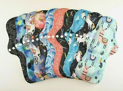 Reusable Bamboo Heavy Flow / Night Time / Maternity Cloth Sanitary Pad FREE P&P!