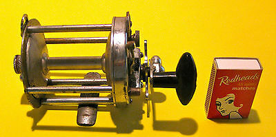 Vintage THE GRAEME DOLPHIN 500S OVERHEAD FISHING REEL for restoration saltwater