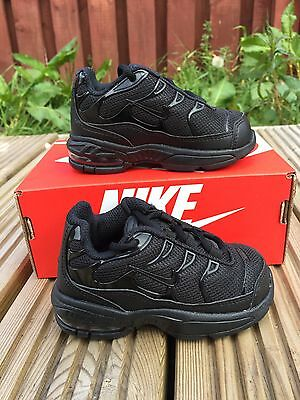 Nike Little Air Max Plus Baby Shoes Sneakers uk 4,5 Eur 21 New + Box