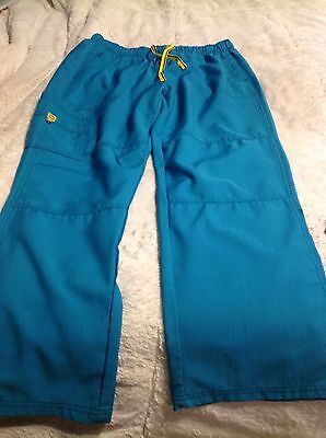 Lot Used Scrubs Pieces Tops Bottoms Large Xl Extra