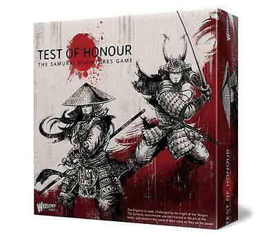 Warlord Games Test Of Honour Samurai Miniatures Game Core Starter Set