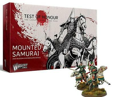 Warlord Games Test Of Honour Samurai Miniatures Game Mounted Samurai Set
