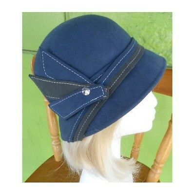 1920's cloche style hat by Avenel of Melbourne (one only)