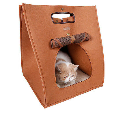 travel folding breathable out pet cat bag cat bed portable suitcase package
