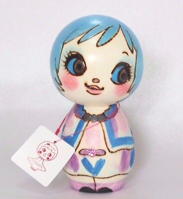 ANNA SUI Wooden Doll Cokets Type A Hand-Painted Kokeshi Kawaii