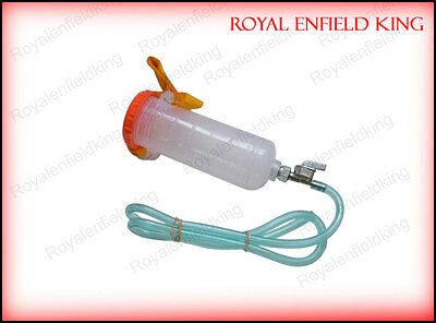 Lambretta - Vespa - Motorcycle Auxiliary Fuel Tank With On-Off Tap 300ml