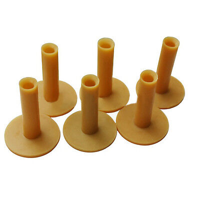 Rubber Driving Range GOLF TEES Holder Tee Home Training Practice Mat 60/70/80mm♡