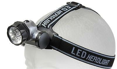 Headlight Stirnlampe Kopflampe Leuchte LED 10 superhelle LED's brennenstuhl