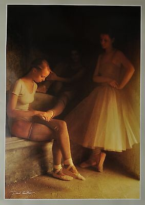 David Hamilton Ltd. Ed. Photo Poster Art Print 67x89 Signiert Signed Ballerinas