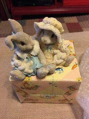 My Blushing Bunnies 1995 I'm Blessed to Have a Friend Like You ENESCO 156957