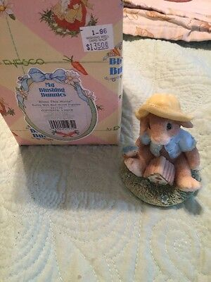 My Blushing Bunnies 1995 Enesco Bless This House