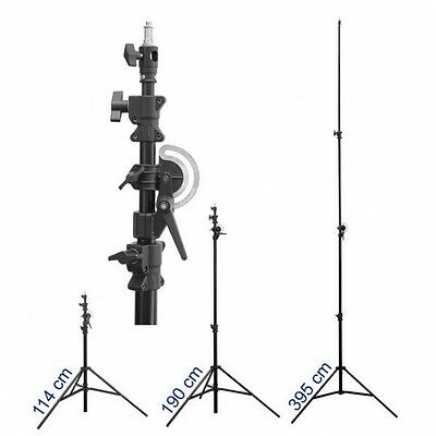 QUADRALITE Multifunction Boom Photo Studio Video Stativo 3,95 mt. giraffa