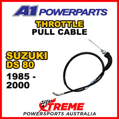 A1 Powerparts Suzuki DS80 DS 80 1985-2000 Throttle Pull Cable 52-46X-10