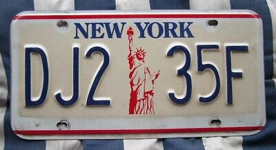 NEW YORK Statue Of Liberty AMERICAN LICENSE NUMBER PLATE #NYliberty