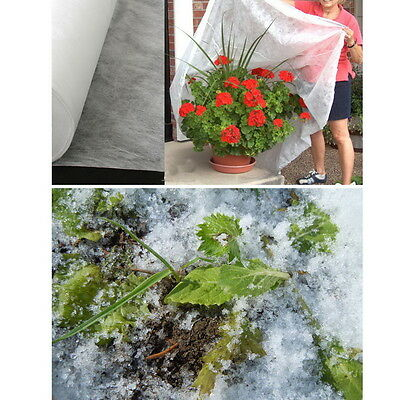 5*32 Foot Garden Frost Veg Insect Mesh Net Crop Plant Winter Protective Cover  &