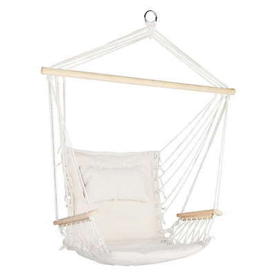 Hammock Swing Chair Cream Brand New