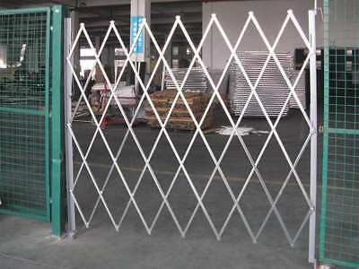 Folding Gate,Single,7 to 8ft Wx8-1/2ft H