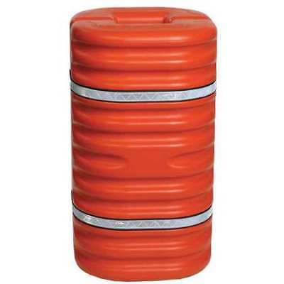 ZORO SELECT 1710OR Column Protector,For 10 In Column,Org