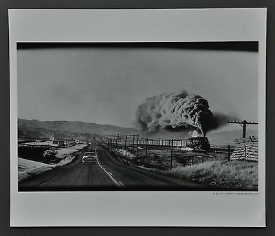 Elliott Erwitt Ltd. Ed. B&W Photo Print 35x30 Wyoming 1954 USA U.S.A. États-Unis