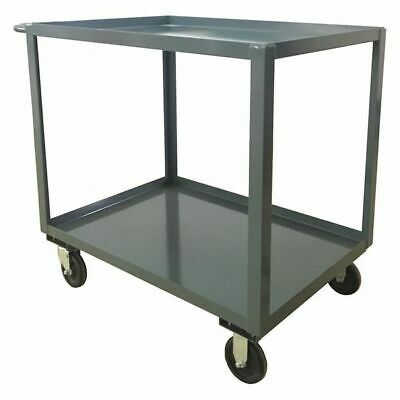 Utility Cart,Steel,42 Lx25 W,1400 lb. ZORO SELECT SB236P500GP