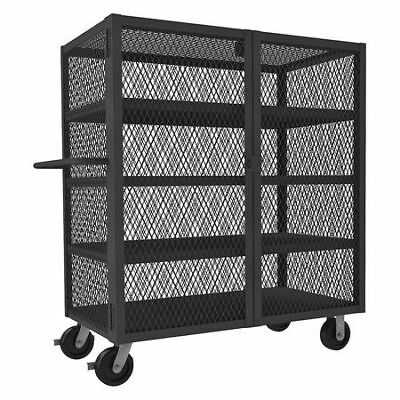 JAMCO VD248-P6 Mesh Security Cart,3000 lb.,48 In.L G9950281