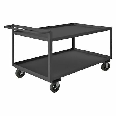 LITTLE GIANT GL-2436-6MR Utility Cart, Steel, 41 Lx24 W, 2000 lb.
