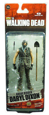 McFarlane toys, The Walking Dead TV Series 7.5 Action Figure, Daryl Grave Digger