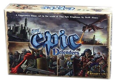 Gamelyn, Tiny Epic Defenders, Card Game, New