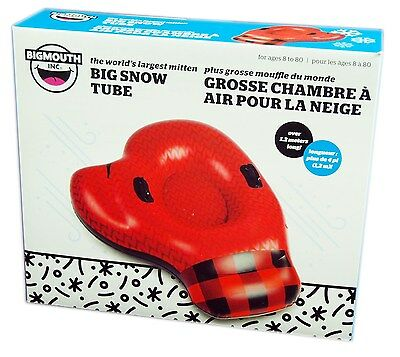 Big Mouth Toys, Big Snow Tube, The World's Largest Mitten 4 feet Across