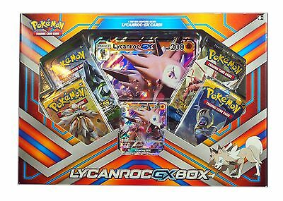 Pokemon TCG, Sun & Moon, Lycanroc GX Collector's Box , New & Sealed