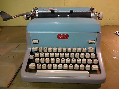 Vintage Royal typewriter FP FPP model from 1959 in Huntington,NY