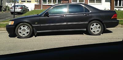 Black, 1996 Acura RL, leather seats, new battery