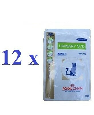 Royal Canin VET CAT Urinary S/O Pouches Chicken 12 x 100 g