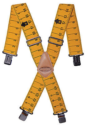 Bucketboss Liars Suspenders Tool Belt Braces 61100