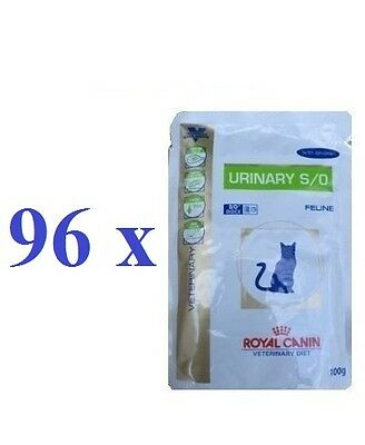 Royal Canin VET CAT Urinary S/O Pouches Chicken 96 x 100 g