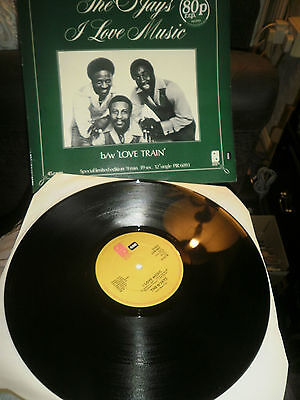 "The O'Jays I Love Music b/w Love Train limited edition 12"" vinyl record"