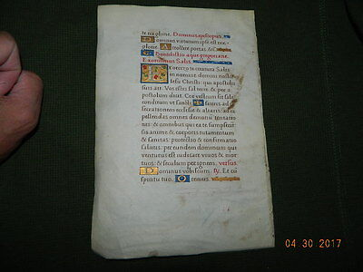 Antiphonal Leaves Leaf Medieval Ancient Scribe Writings Exorcizo Creatura Demon
