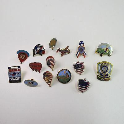 Lot of 15 Hot Air Balloon Festival Pins Battle Creek Ultralight Air Derby