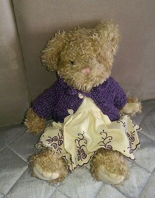 Lovely condition RUSS ' Chloe'.Bear soft toy 24cm