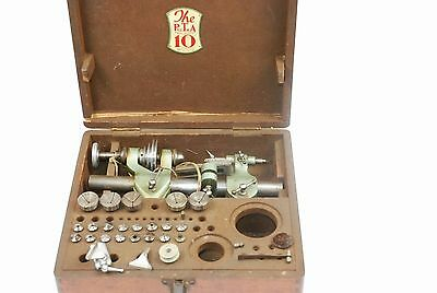 10mm PULTRA CLOCKMAKERS LATHE Manchester No1629