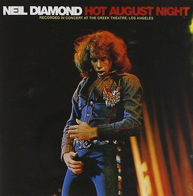 Neil Diamond Hot August Night 3 Extra Tracks Remastered 2 CD NEW