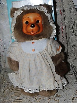 RAIKES BEARS JENNY 17014 The HOME SWEET HOME COLLECTION BOX & HANd TAG