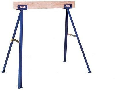 Trojan Quality Tools 35 in. Tall Sawhorse Strong Sturdy Adjustable Legs TS35 NEW