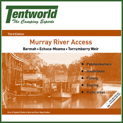 Spatial Vision Murray River Access: Barmah to Torrumbarry Weir Map - Edition 3